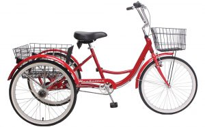 Adult Trike - Red 3-Speed