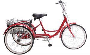 2020 Manhattan Cruisers Trike in Red