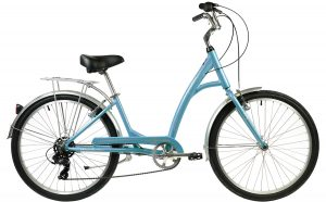 2021 Manhattan Cruisers Smoothie Deluxe Step-Thru in Light Blue