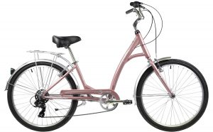 2021 Manhattan Cruisers Smoothie Deluxe Step-Thru in Rose Gold