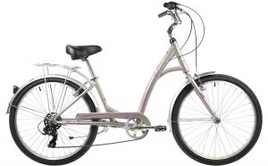 2021 Manhattan Cruisers Smoothie Deluxe Step-Thru in Silver Gold