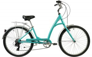 2021 Manhattan Cruisers Smoothie Deluxe Step-Thru in Teal