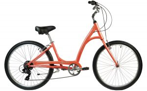 2021 Manhattan Cruisers Smoothie Step-Thru in Coral