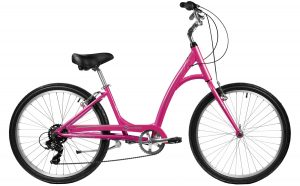 2021 Manhattan Cruisers Smoothie Step-Thru in Pink Sherbet