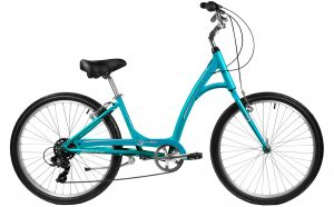 2021 Manhattan Cruisers Smoothie Step-Thru in Teal