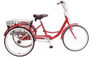 2021 Manhattan Cruisers Adult Trike in Red