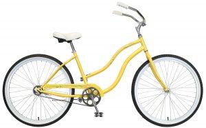2021 Manhattan Cruisers Aero Ladies in Sunflower Yellow